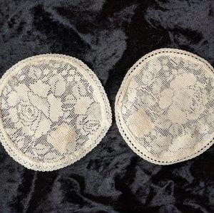 100% Cotton Handmade lace doilies